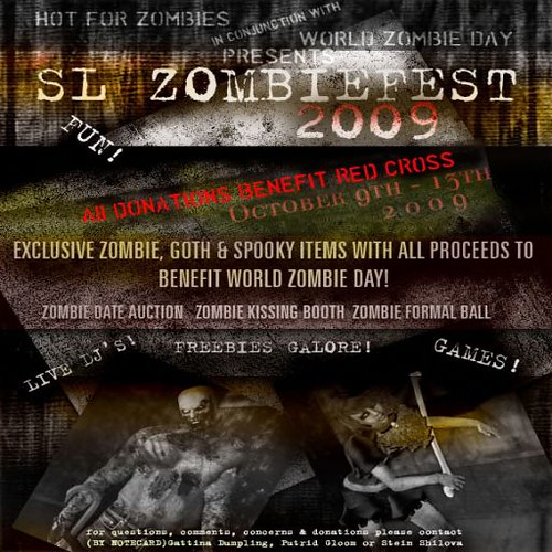 zombiefest flyer