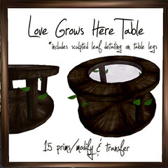 50L Friday - Week 15 - =HOOT= Love Grows Here Table