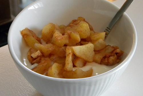 Apple yogurt 2