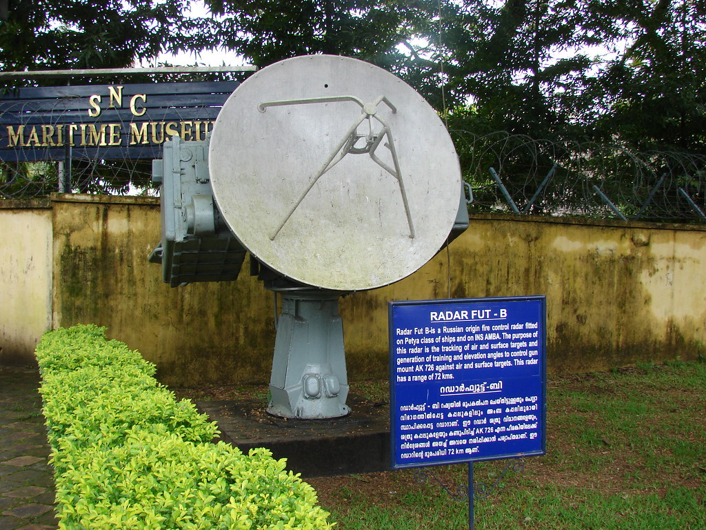 Radar used in INS Dronacharya