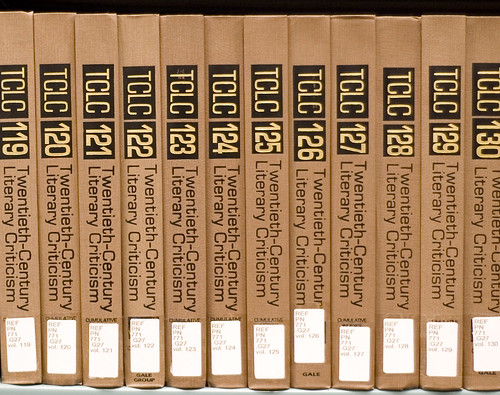 TCLC - Twentieth Century  Literary Criticism