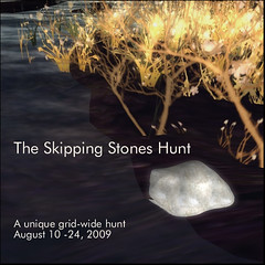 Skipping Stones Hunt Logo