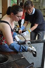 Making glass tumblers