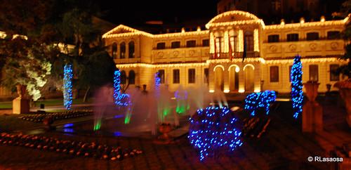 Jardines del Palacio de Navarra