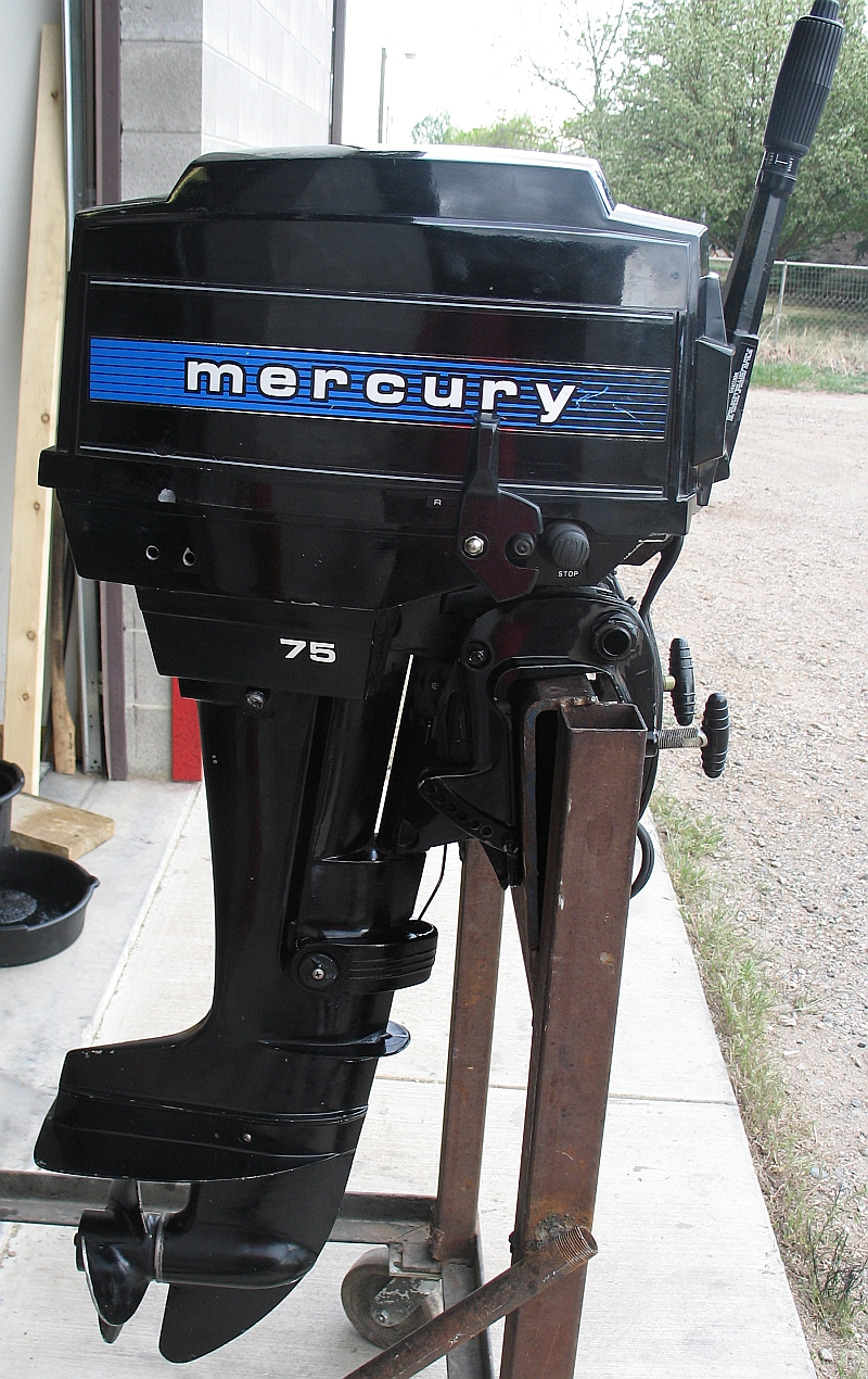hight resolution of mercury 7 5 outboard