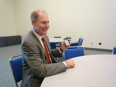 Southwest CEO Gary Kelly and His iPhone at NBTA