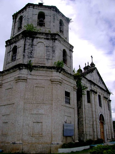 The historic church of Oslob