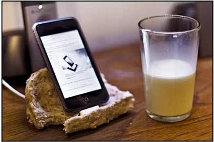 iPod Touch Bread Dock