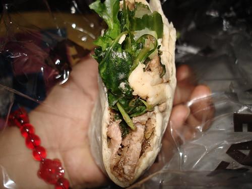 peking duck wrap from EAT