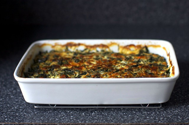 swiss chard and sweet potato gratin