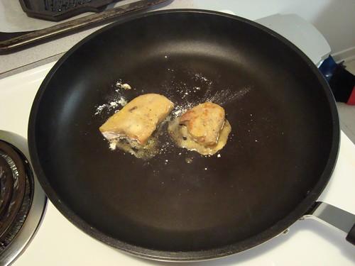 Foie gras sauté
