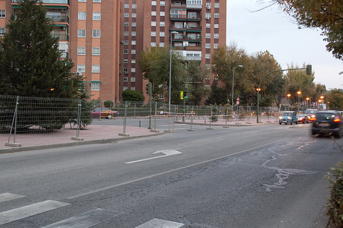 Caos circulatorio en Nueva Alcalá