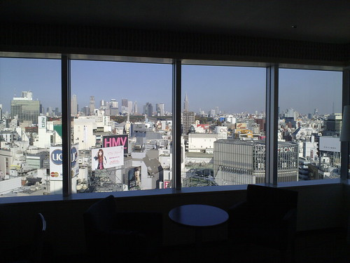 Tokyo from My Hotel Room