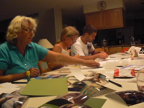Bethany Beach 2009 - Mom, Melanie, Frank Scrapbooking