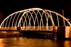 Michael Davitt Bridge at Night