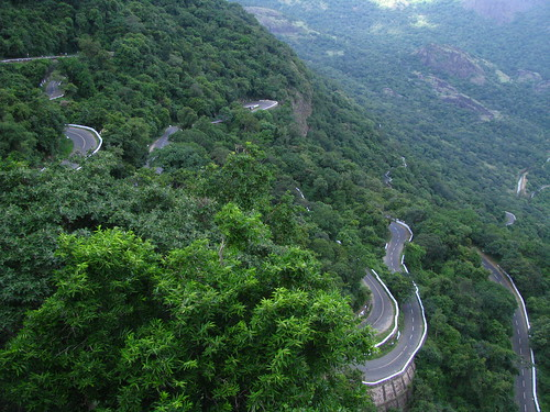 Hairpin bends