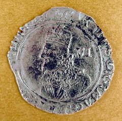 Charles I Sixpence
