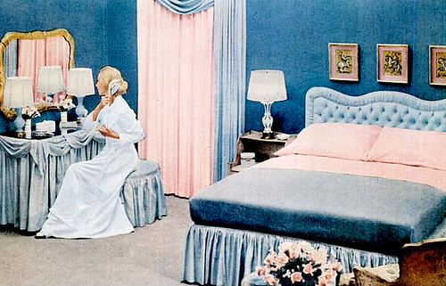 Early '50s Bedrooms (1950-55) | Mid-Century Living