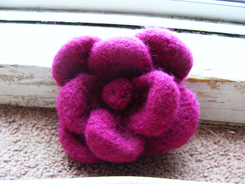 Noni Flower - Felted