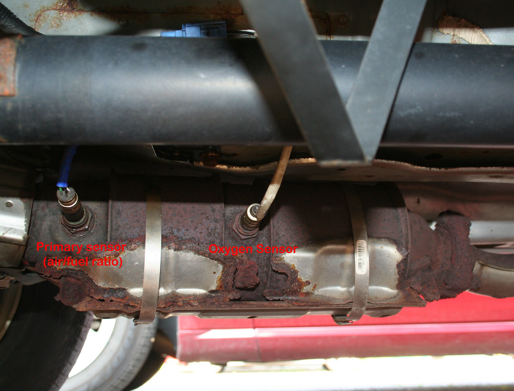 2003 honda crv exhaust system diagram honeywell fcu thermostat wiring how i changed the oxygen sensor a f ratio on my