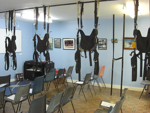skydive training room