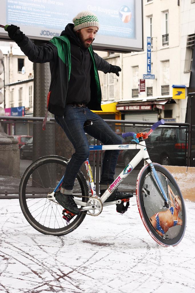 PARIS BIKE POLO Jude Portrait