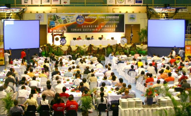 The 11th Tuna Congress with over 400 participants, exhibitors, and other stakeholders of the Tuna Industry all converged for 3 days at the GenSan Gym.