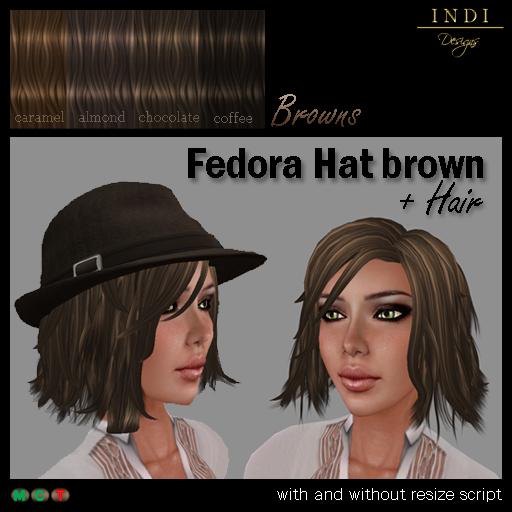 fedora-brown-browns