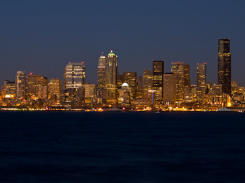 Seattle Skyline - foto: Michael @ NW Lens, flickr