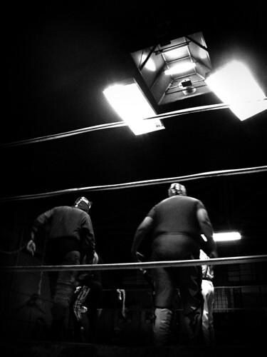 Los Luchadores...
