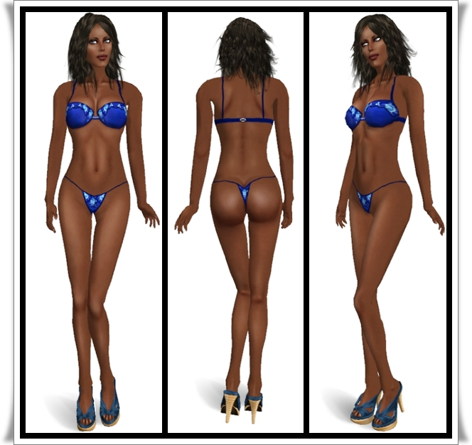 GeEs Designs - Tara- America Body