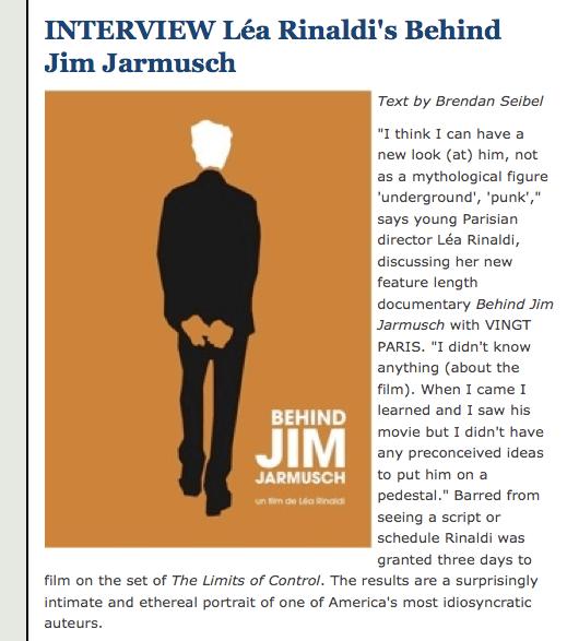 Vingt - Behind Jim Jarmusch