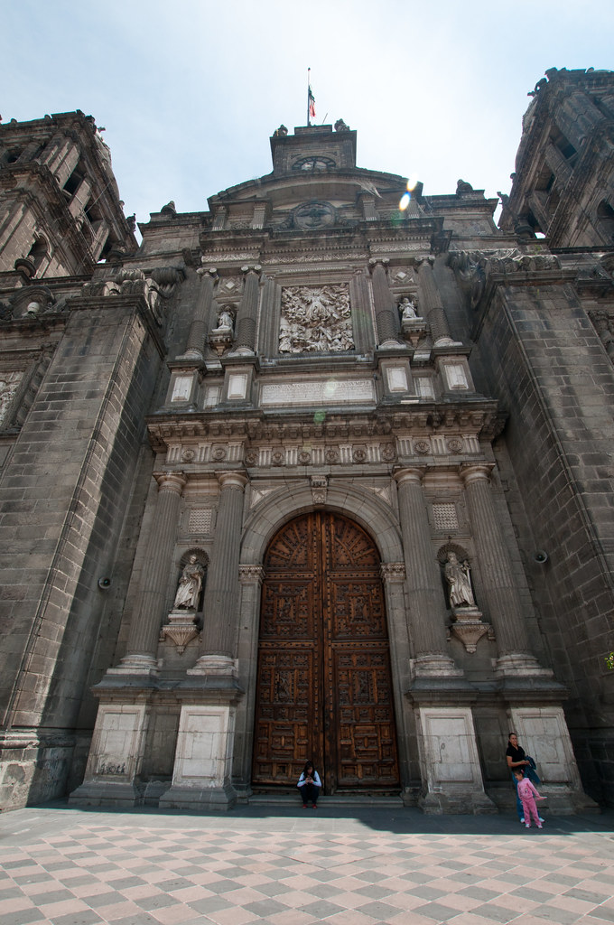 Cathedral Door in Mexico City