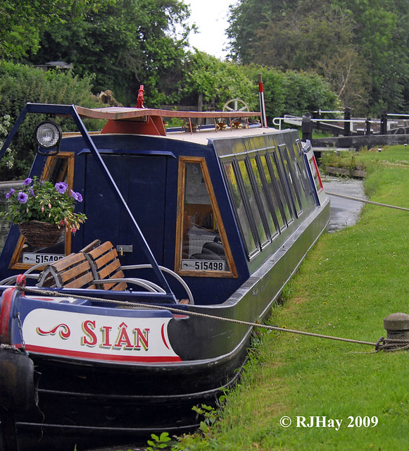 Canal Boat - Montgomery Canal