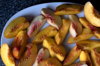 nectarine wedges