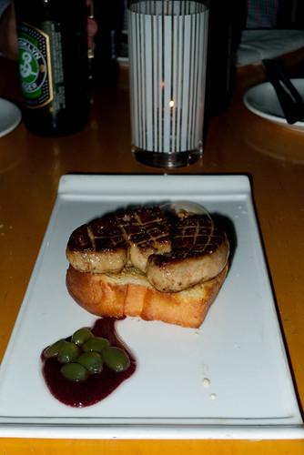 Foie gras PB+J. Photo by DC.