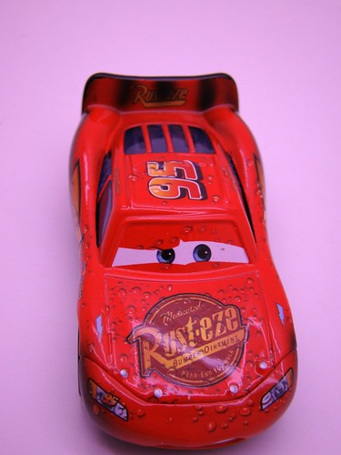 CARS Soaked Lightning mcqueen (1)