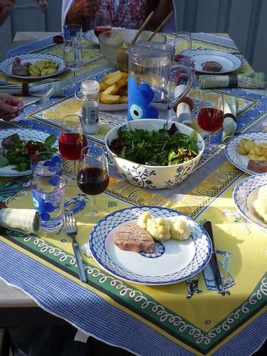 Swedish summer dinner