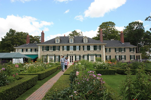Hildene, view from the gardens