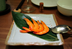 Appetizer: Drunken Shrimp