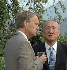 Ambassador Simons hosted Nobuo Tanaka, Executi...