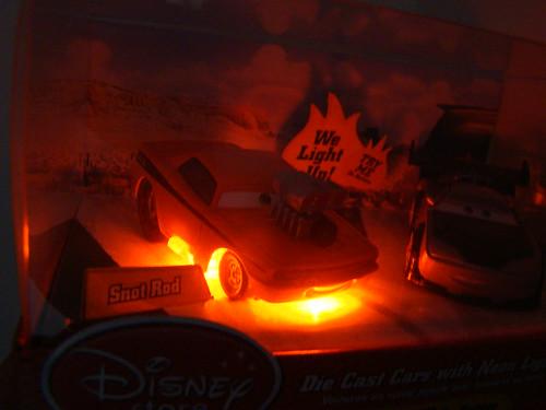Disney Store CARS Light ups (3)