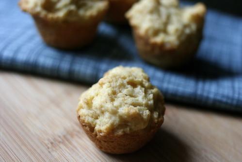 vegan cornbread (mini) muffins
