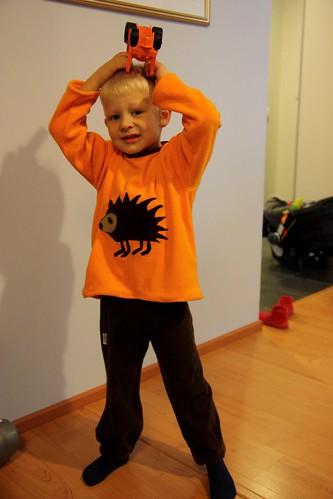 Niilo's new shirt