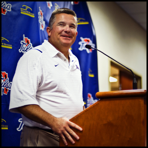 Head Coach Todd Graham [Tulsa University Football]