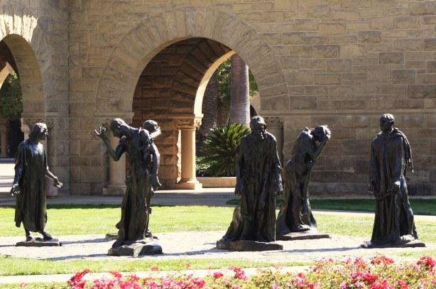Burghers of Calais (Rodin, Stanford)