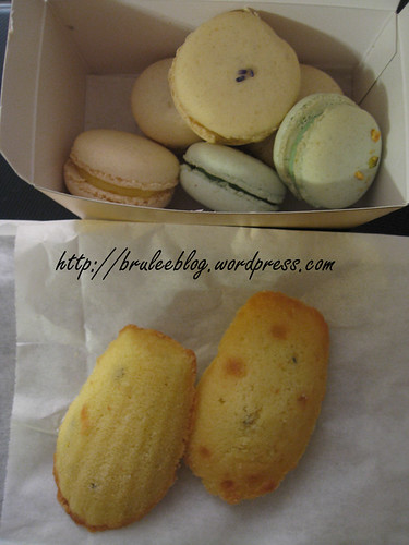 Duchess Bake Shop - macarons and madeleines