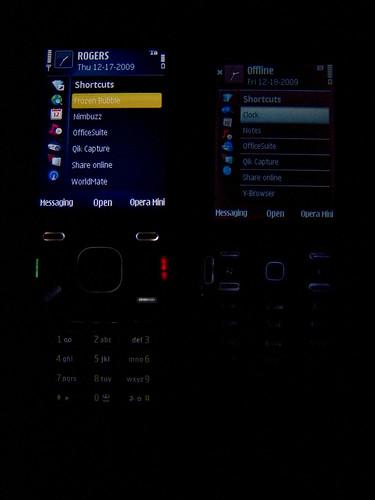 N86 AMOLED Screen