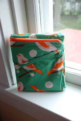esbaby large wetbag, folded up