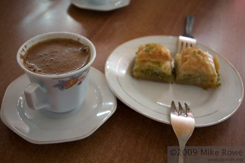 Coffee and Baclava